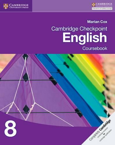 Cambridge Checkpoint English Coursebook 8 - Marian Cox - 9781107690998