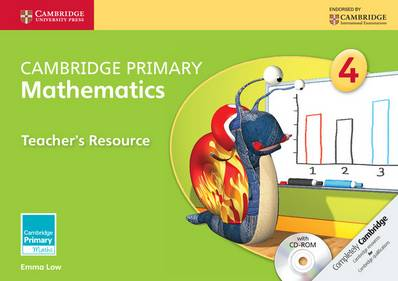 Cambridge Primary Maths: Cambridge Primary Mathematics Stage 4 Teacher's Resource with CD-ROM - Emma Low - 9781107692947