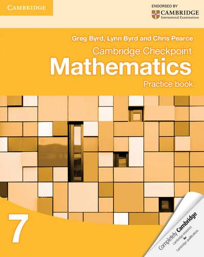 Cambridge Checkpoint Mathematics Practice Book 7 - Greg Byrd - 9781107695405