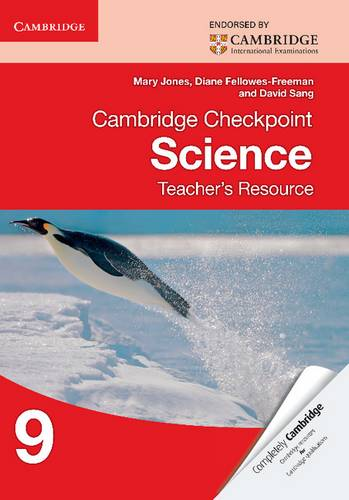 Cambridge Checkpoint Science Teacher's Resource 9 - Mary Jones - 9781107696495
