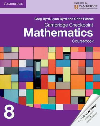 Cambridge Checkpoint Mathematics Coursebook 8 - Greg Byrd - 9781107697874