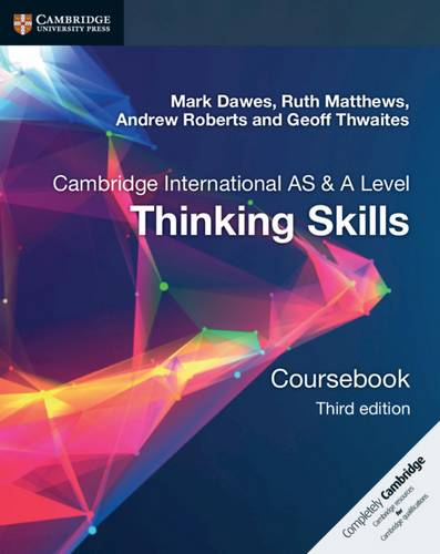 Thinking Skills Coursebook - Mark Dawes - 9781108441049