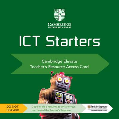 Cambridge International Examinations: Cambridge ICT Starters Cambridge Elevate Teacher's Resource Access Card - Victoria Wright - 9781108457309