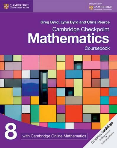Cambridge Checkpoint Mathematics Coursebook 8 with Cambridge Online Mathematics (1 Year) - Greg Byrd - 9781108615952