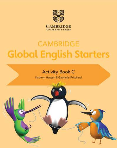 Cambridge Global English Starters: Cambridge Global English Starters Activity Book C - Kathryn Harper - 9781108700092