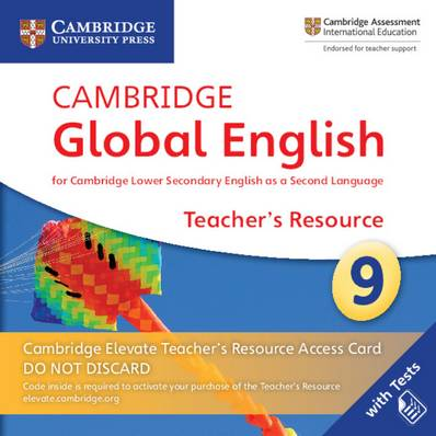 Cambridge Global English Stage 9 Cambridge Elevate Teacher's Resource Access Card: for Cambridge Lower Secondary English as a Second Language - Christopher Barker - 9781108702829