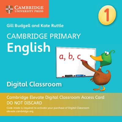 Cambridge Primary English: Cambridge Primary English Stage 1 Cambridge Elevate Digital Classroom Access Card (1 Year) - Gill Budgell - 9781108709095