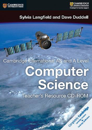 Cambridge International AS and A Level Computer Science Teacher's Resource CD-ROM - Sylvia Langfield - 9781316609859