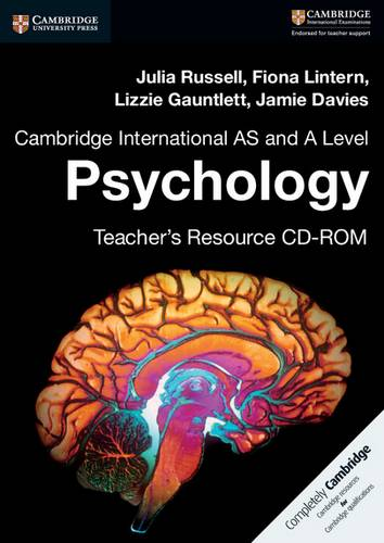 Cambridge International AS and A Level Psychology Teacher's Resource CD-ROM - Julia Russell - 9781316637944