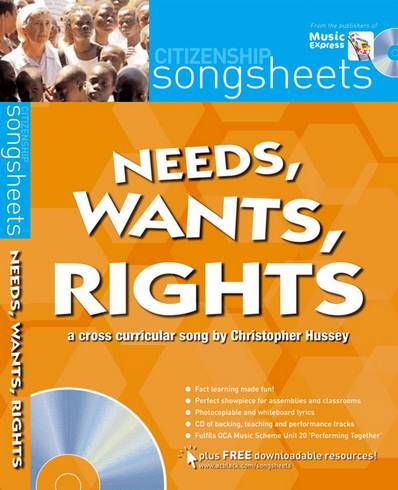 Songsheets - Needs