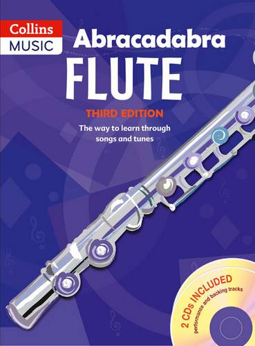 Abracadabra Woodwind - Abracadabra Flute (Pupils' Book + 2 CDs): The way to learn through songs and tunes - Malcolm Pollock - 9781408105276