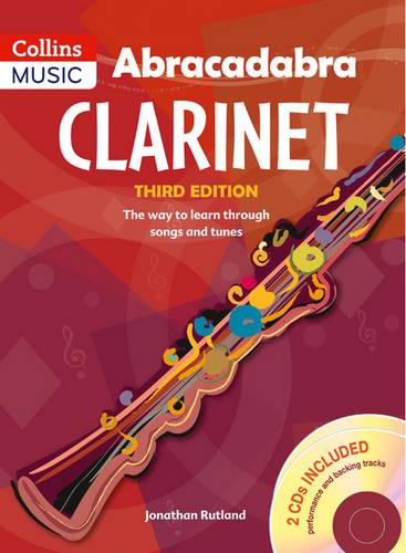 Abracadabra Woodwind - Abracadabra Clarinet (Pupil's book + 2 CDs): The way to learn through songs and tunes - Jonathan Rutland - 9781408105306