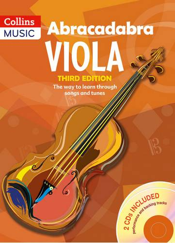 Abracadabra Strings - Abracadabra Viola (Pupil's book + 2 CDs): The way to learn through songs and tunes - Peter Davey - 9781408114582