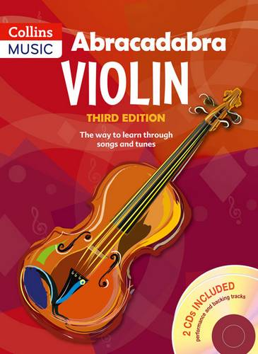 Abracadabra Strings - Abracadabra Violin Book 1 (Pupil's book + 2 CDs): The way to learn through songs and tunes - Peter Davey - 9781408114612