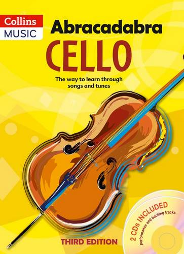 Abracadabra Strings - Abracadabra Cello (Pupil's book + 2 CDs): The way to learn through songs and tunes - Maja Passchier - 9781408114629