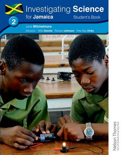Investigating Science for Jamaica: Student's Book 2 - June Mitchelmore - 9781408504444