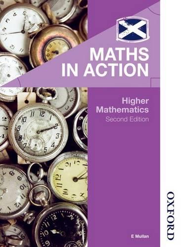Maths in Action - Higher Mathematics -  - 9781408523810