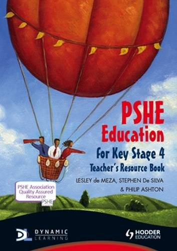 PSHE Education for Key Stage 4 Teacher's Resource Book + CD - Lesley De Meza - 9781444120721