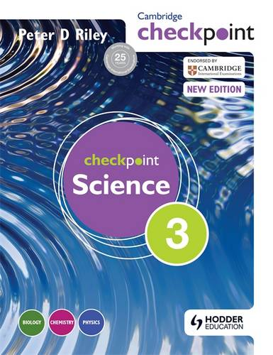 Cambridge Checkpoint Science Student's Book 3 - Peter Riley - 9781444143782