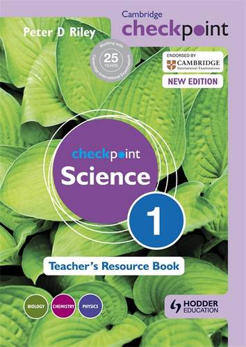 Cambridge Checkpoint Science Teacher's Resource Book 1 - Peter Riley - 9781444143805
