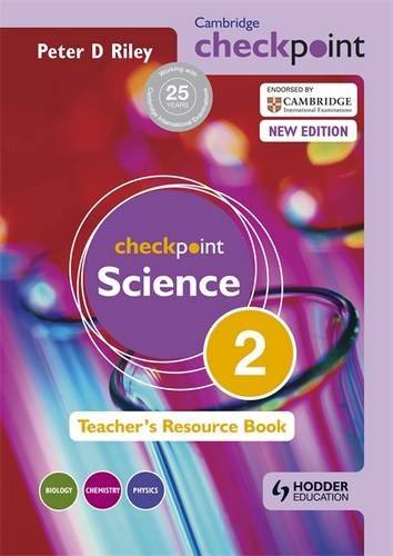 Cambridge Checkpoint Science Teacher's Resource Book 2 - Peter Riley - 9781444143812