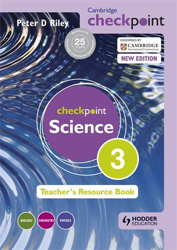 Cambridge Checkpoint Science Teacher's Resource Book 3 - Peter Riley - 9781444143829