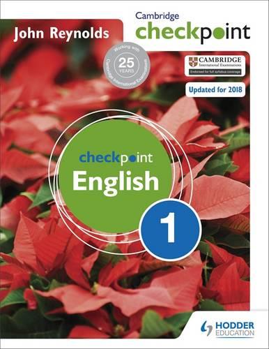 Cambridge Checkpoint English Student's Book 1 - John Reynolds - 9781444143836
