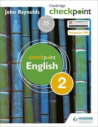 Cambridge Checkpoint English Student's Book 2 - John Reynolds - 9781444143850