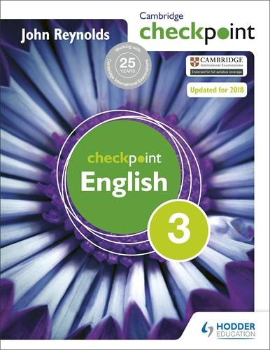 Cambridge Checkpoint English Student's Book 3 - John Reynolds - 9781444143874