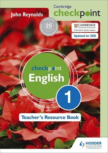 Cambridge Checkpoint English Teacher's Resource Book 1 - John Reynolds - 9781444143898