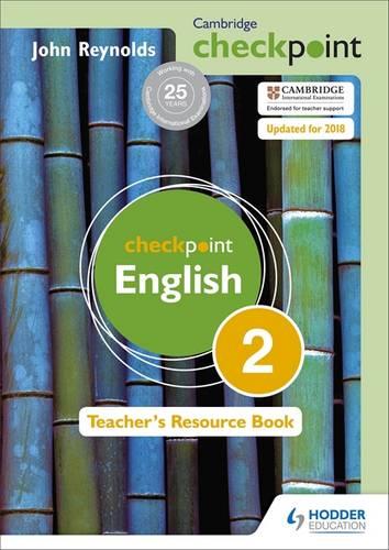 Cambridge Checkpoint English Teacher's Resource Book 2 - John Reynolds - 9781444143904