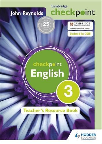 Cambridge Checkpoint English Teacher's Resource Book 3 - John Reynolds - 9781444143911