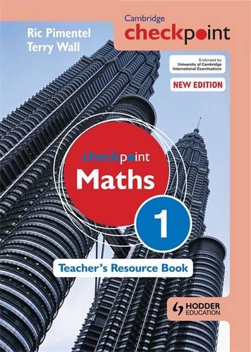 Cambridge Checkpoint Maths Teacher's Resource Book 1 - Terry Wall - 9781444143928
