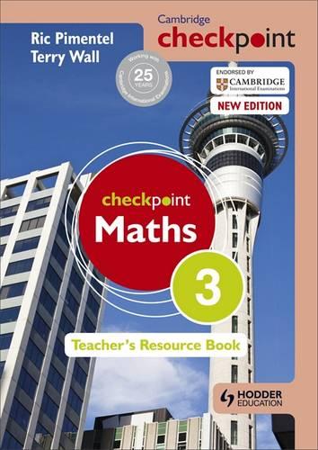 Cambridge Checkpoint Maths Teacher's Resource Book 3 - Terry Wall - 9781444143942