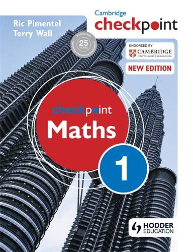 Cambridge Checkpoint Maths Student's Book 1 - Terry Wall - 9781444143959