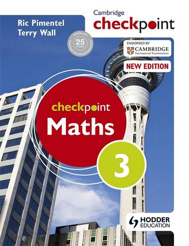 Cambridge  Checkpoint Maths Student's Book 3 - Terry Wall - 9781444143997
