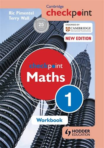 Cambridge Checkpoint Maths Workbook 1 - Terry Wall - 9781444144017