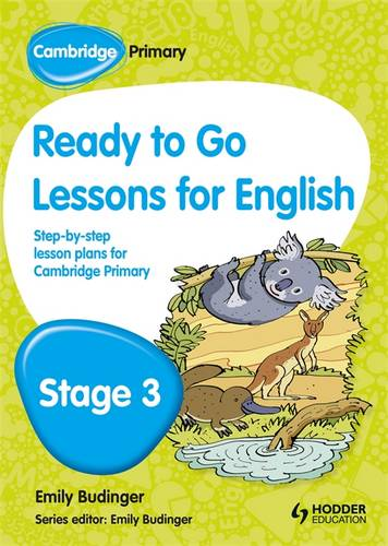Cambridge Primary Ready to Go Lessons for English Stage 3 - Kay Hiatt - 9781444177060