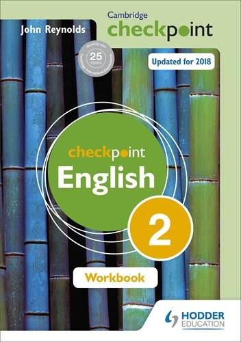 Cambridge Checkpoint English Workbook 2 - John Reynolds - 9781444184426
