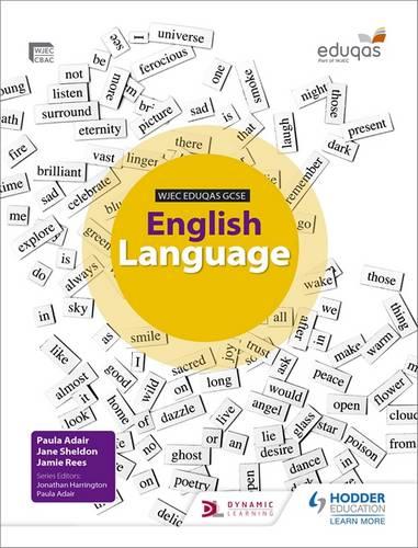 WJEC Eduqas GCSE English Language Student Book - Paula Adair - 9781471831850