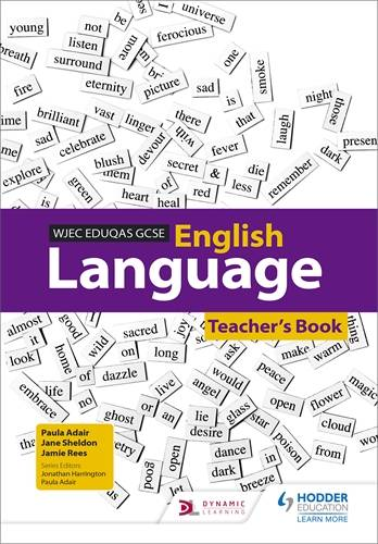 WJEC Eduqas GCSE English Language Teacher's Book - Paula Adair - 9781471831874