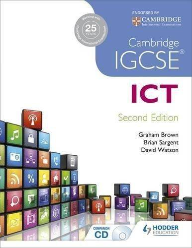 Cambridge IGCSE ICT - Brian Sargent - 9781471837951