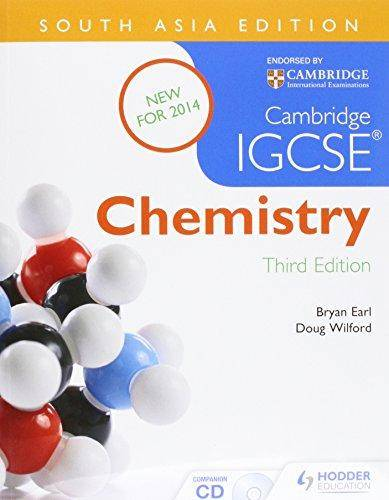 Cambridge IGCSE Chemistry 3rd Edition plus CD South Asia Edition - Bryan Earl - 9781471837975