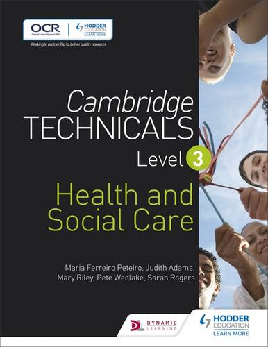 Cambridge Technicals Level 3 Health and Social Care - Maria Ferreiro Peteiro - 9781471874765