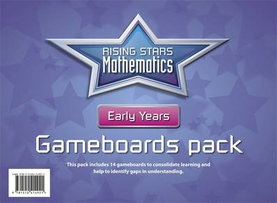 Rising Stars Mathematics Early Years Gameboards - Cherri Moseley - 9781510414921