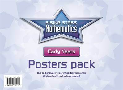 Rising Stars Mathematics Early Years Posters - Cherri Moseley - 9781510414938