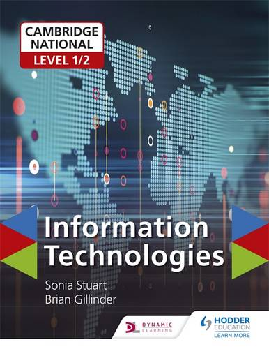 Cambridge National Level 1/2 Certificate in Information Technologies - Brian Gillinder - 9781510423275