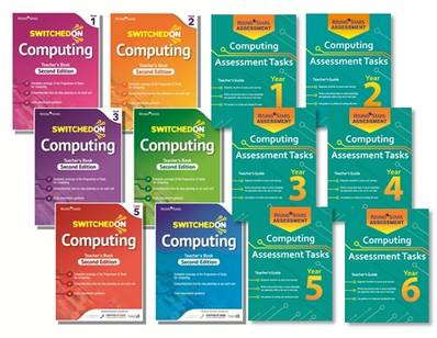 Switched on Computing and Computing Assessment Tasks Whole School Pack -  - 9781510436060