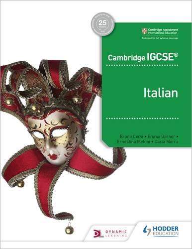 Cambridge IGCSE (TM) Italian Student Book - Ernestina Meloni - 9781510448087