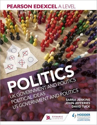 Pearson Edexcel A level Politics - Sarra Jenkins - 9781510449220